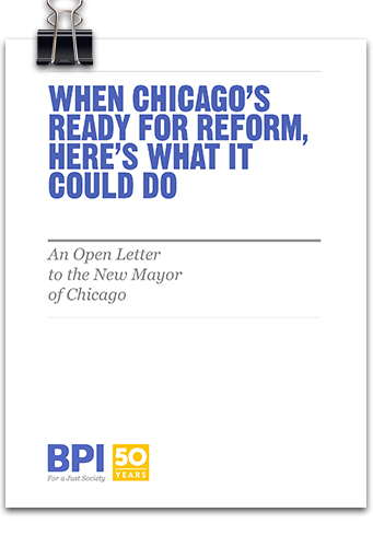 An Open Letter to the New Mayor of Chicago